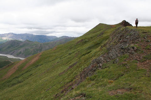 hiker on polychrome ridge.jpg