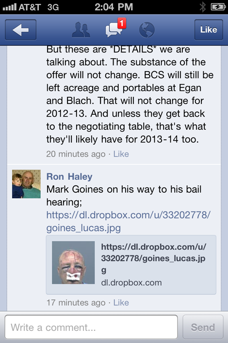 Ron-haley-defames-mark-goines
