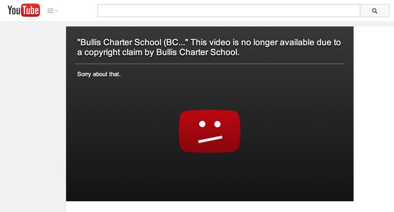 BCS illegally claims copyright on public video