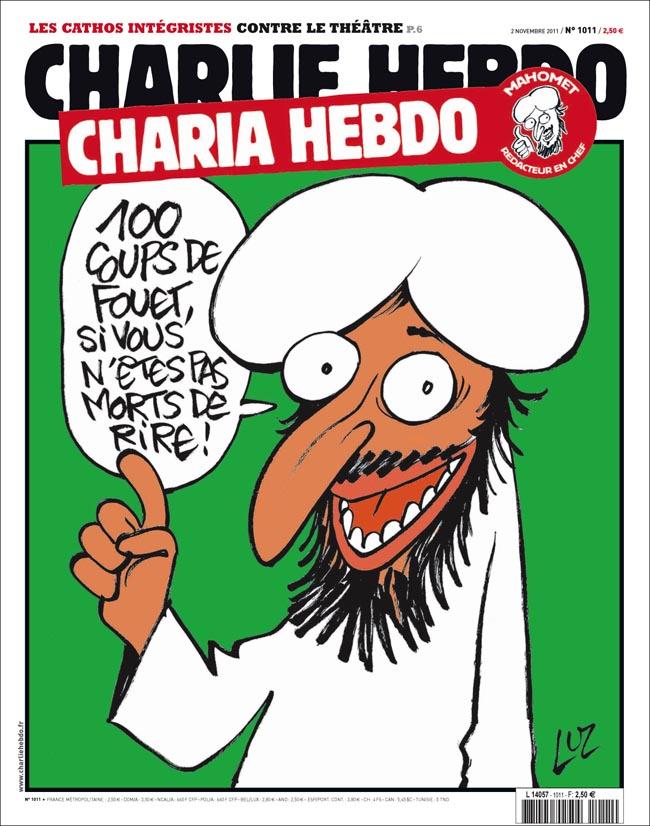 Charia charlie hebdo muhammad caricature