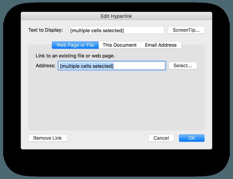 Microsoft Excel Remove Link