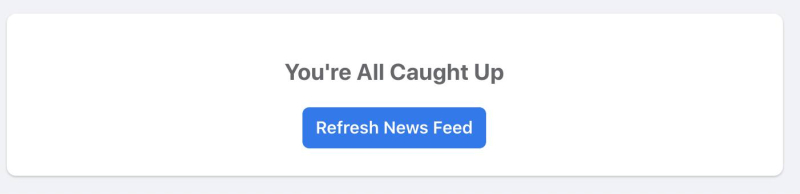 Facebook - you're all caught up
